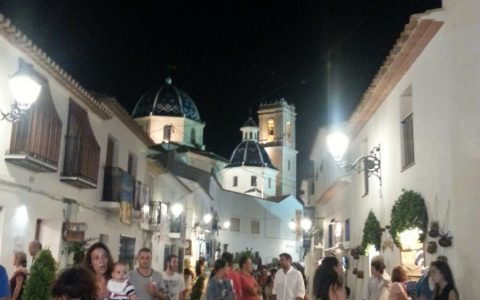 Altea by night
